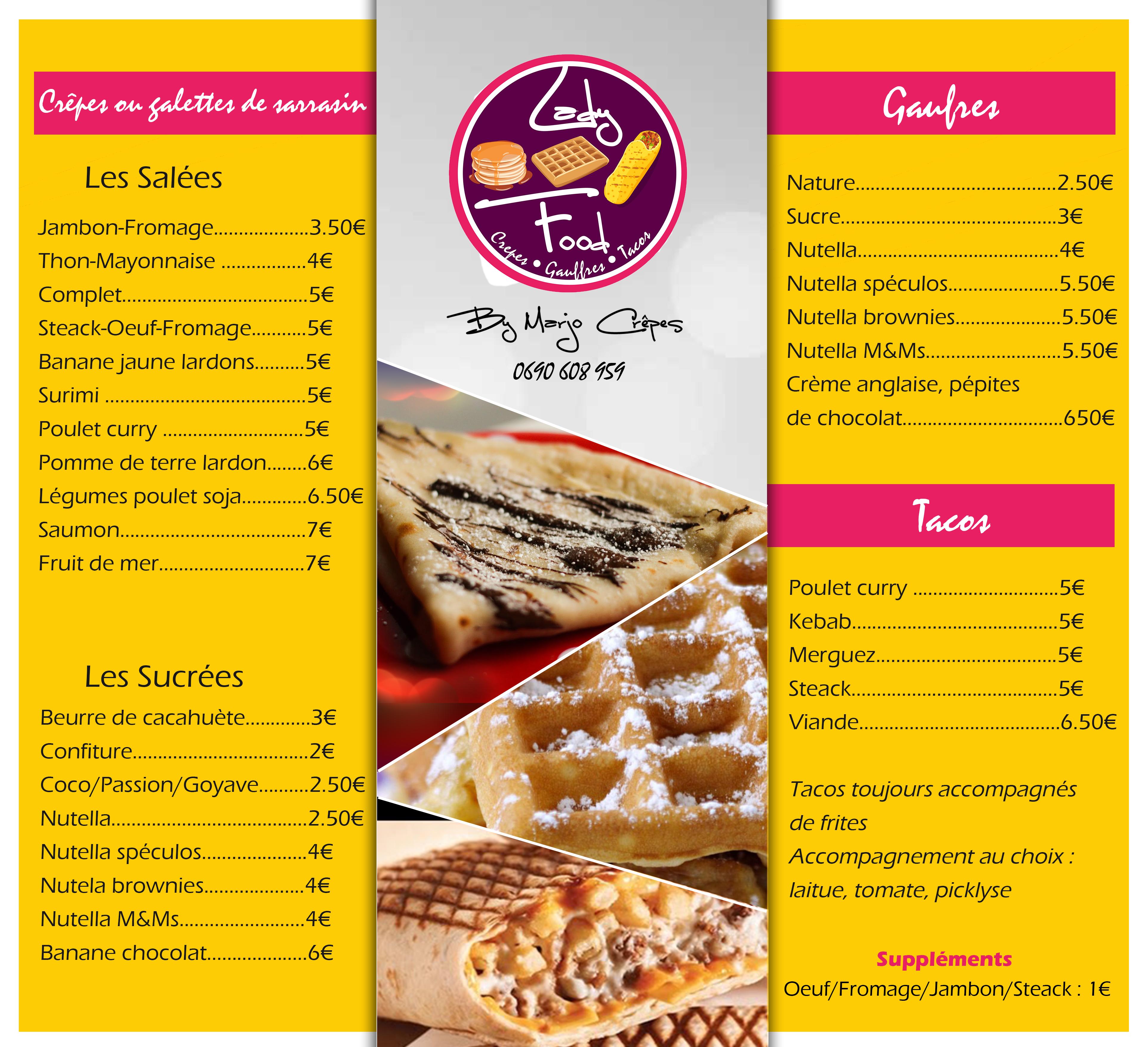 menu design infographie guadeloupe
