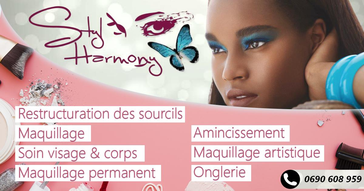 affiche prestation maquillage