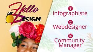 Hello design - infographiste en Guadeloupe